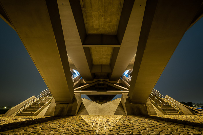Symmetrics from underneath
