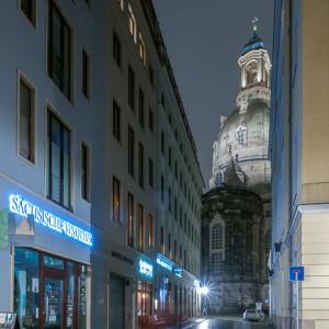 Dresden Altstadt with Frauenkirche
