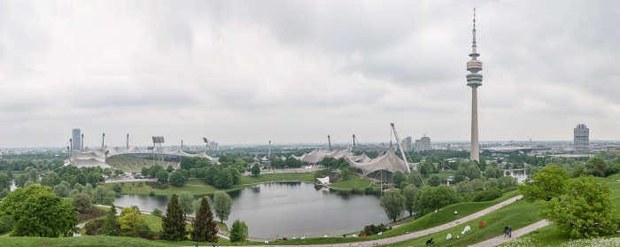 Panorama of Olympic Park