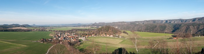180° Panorama from Zirkelstein