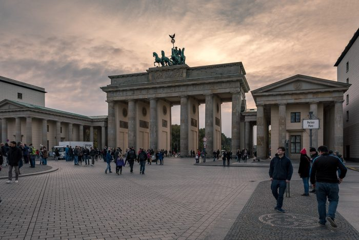 Twighlight Shot of the Brandenburg Gate
